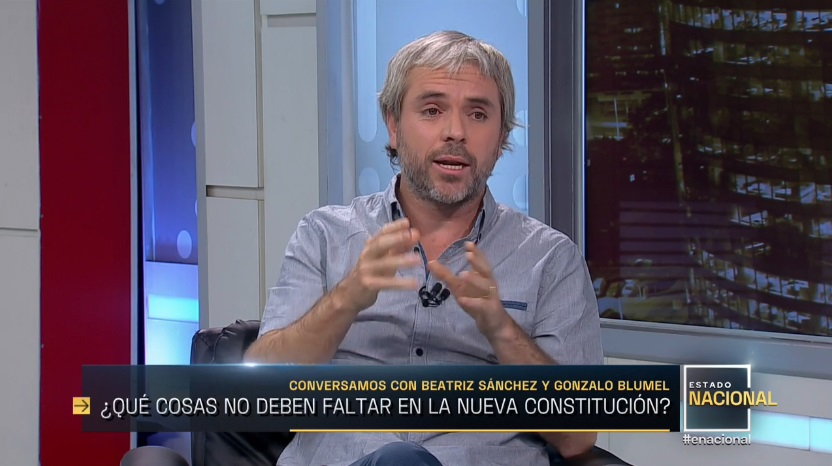Entrevista Gonzalo Blumel
