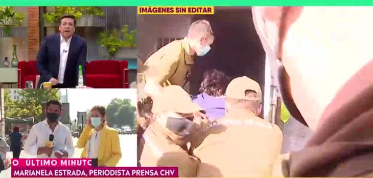 Julio César Rodríguez y polémica detención de camarógrafo de CHV: