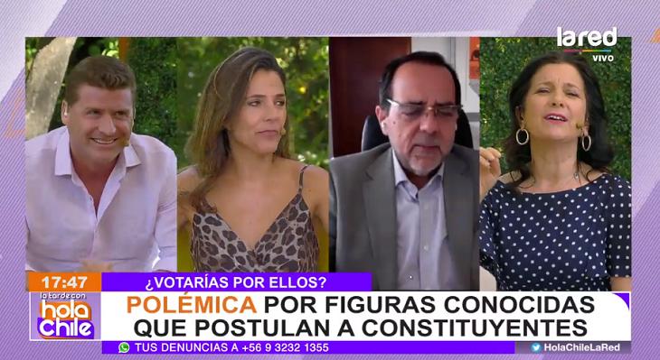 Tenso debate de Claudio Rojas y Jaime Mulet