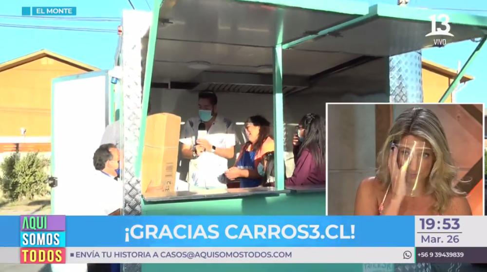 Aquí Somos Todos: Ángeles Araya y Macarena Tondreau se quebraron tras importante donación para madre