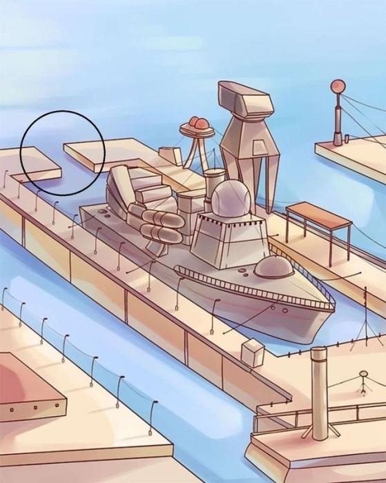 ¿Logras notar dónde está el error en este puerto?