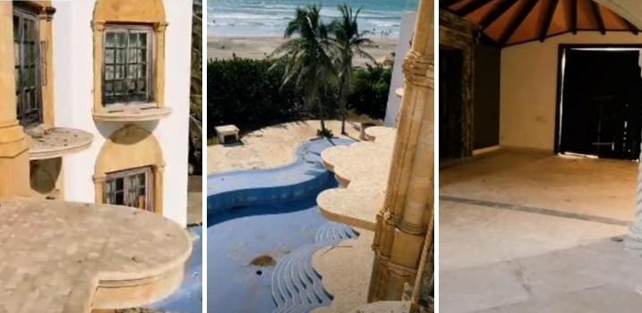 Mansión abandonada de Luis Miguel enAcapulco
