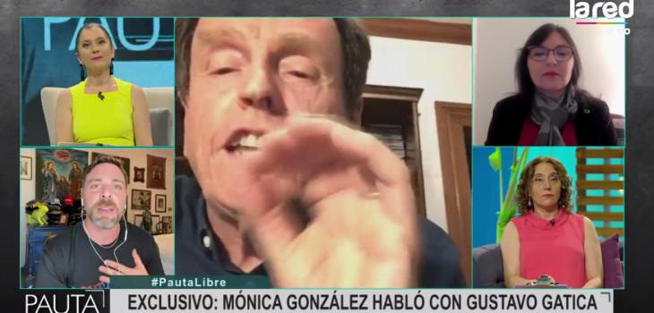 Carlos Larraín se descontroló en Pauta Libre tras pregunta sobre su hijo: