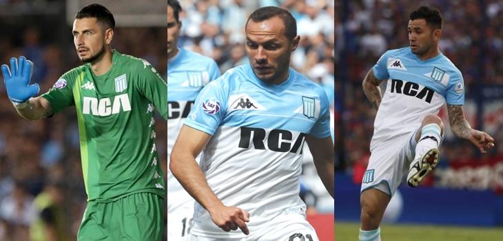 ¿Mirando el fútbol chileno? En Argentina dan casi por hecho salida de Arias, Mena y Díaz de Racing