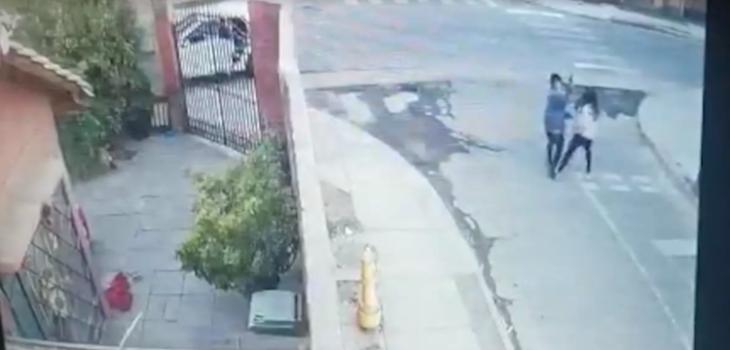 Detective frustra a tiros asalto en Renca: detenido tiene condena por robo