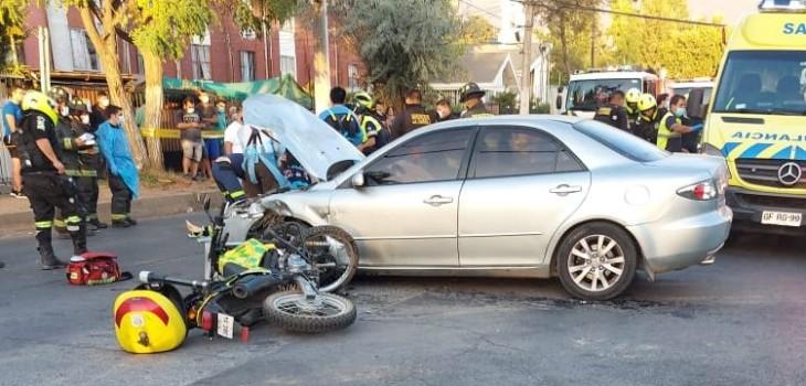 Funcionario de seguridad ciudadana en La Florida murió tras accidente de tránsito