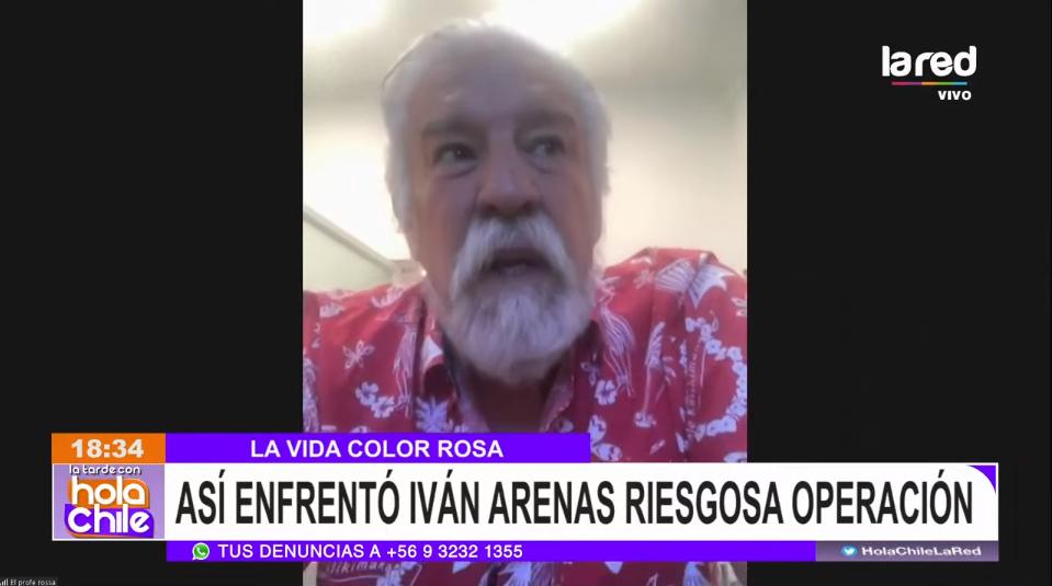 Iván Arenas habló de su recuperación