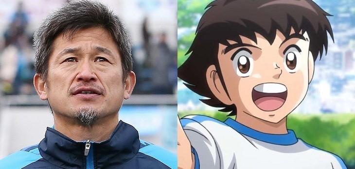 Kazuyoshi Miura y oliver atom