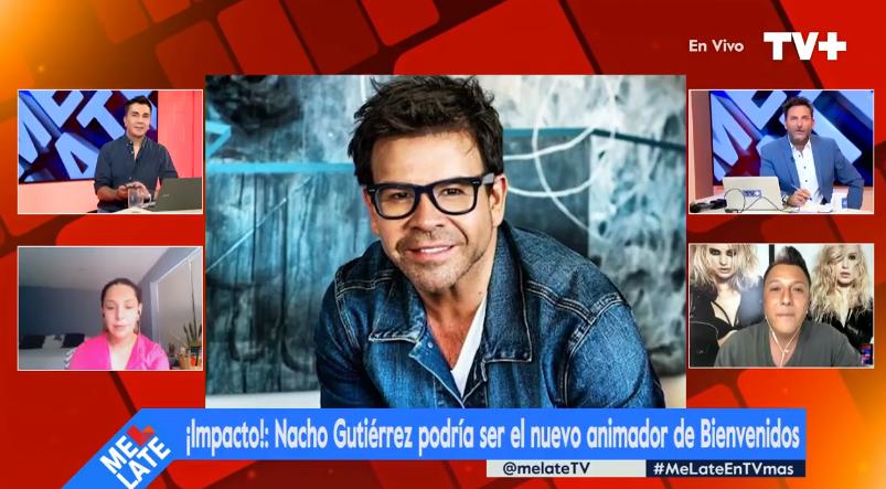 En 'Me Late' aseguraron que Ignacio Gutiérrez tiene nueva casa televisiva