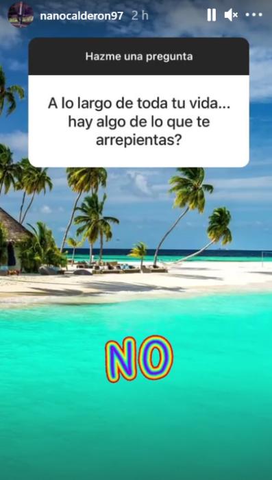 Nano Calderón se confiesa