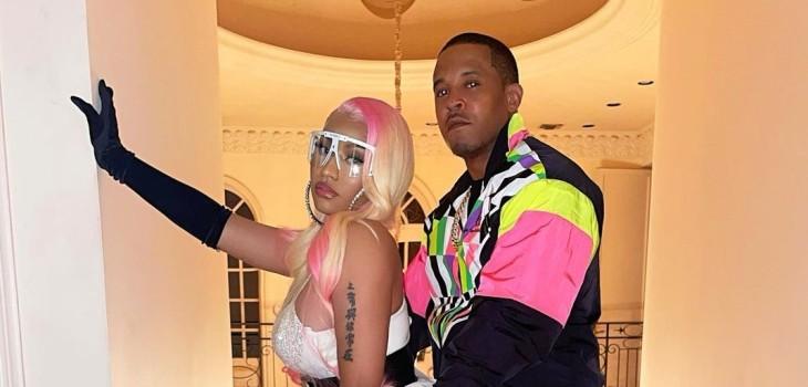 Nicki Minaj mostró rostro de su bebé