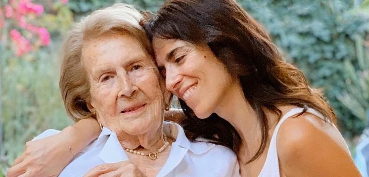 Paz Bascuñan contó que su abuela y madre contrajeron COVID-19