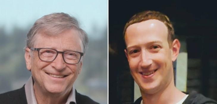 Bill Gates y Mark Zuckerberg regla 5 horas