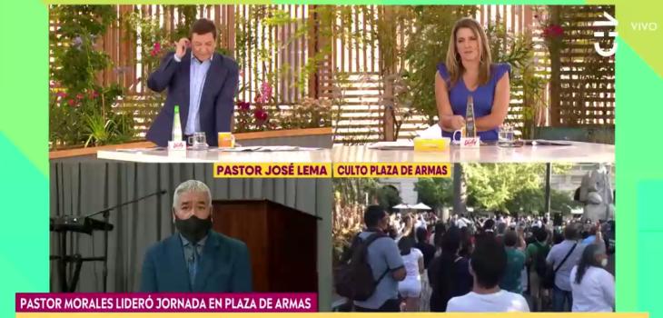 El cuestionado mensaje de pastor en CHV sobre prédicas en público: