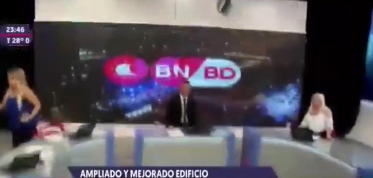 Dos animadores no pudieron con los nervios: noticiero de Argentina sufrió en vivo con fuerte sismo