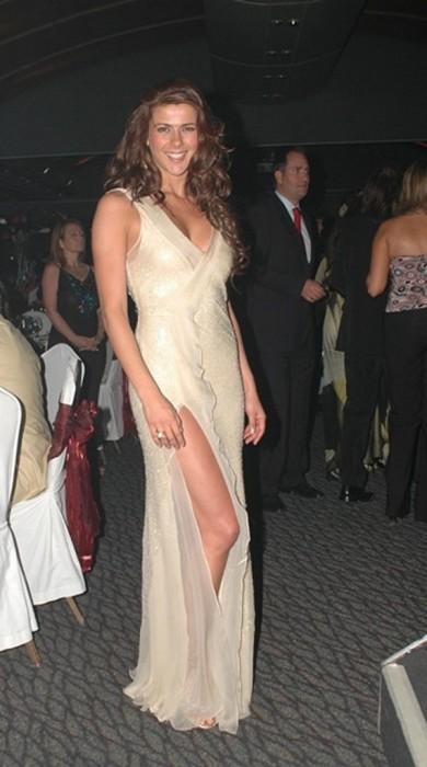 Tonka Tomicic en galas de Viña