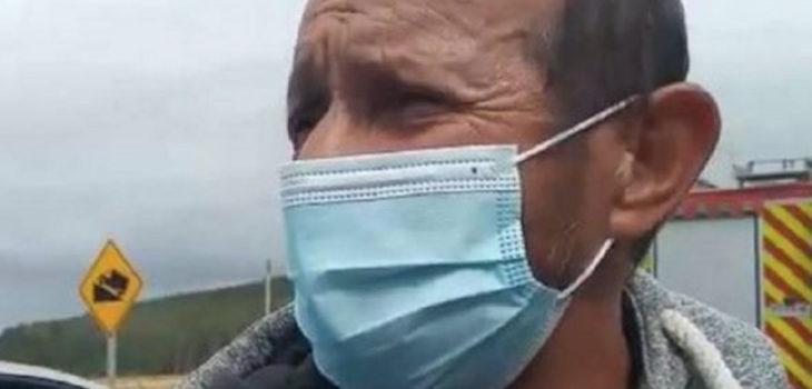 Traslado sospechoso Tomás Bravo