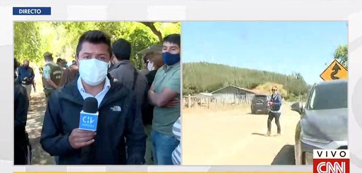 periodista se quiebra al informar caso Tomás Bravo