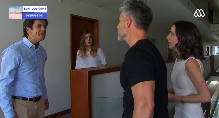 El reencuentro de Rocío, Leonardo, Tomás y Agustina