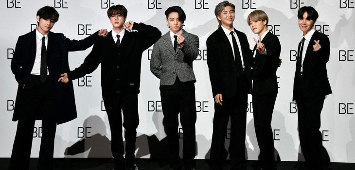 BTS en los Grammys