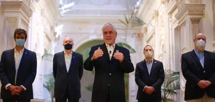 Sebastián Piñera promulga ley de elecciones en 2 días