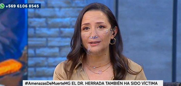 Andrea Aristegui contó que fue víctima de amenazas mientras conducía programa político