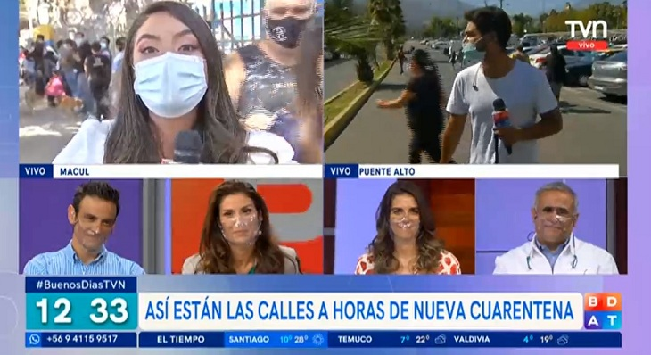periodista del buenos días a todos Daniela Muñoz dijo adiós a TVN