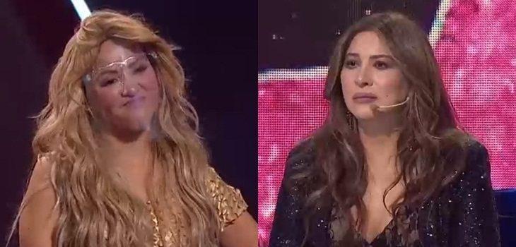 imitadora de Shakira molesta con myriam hernández