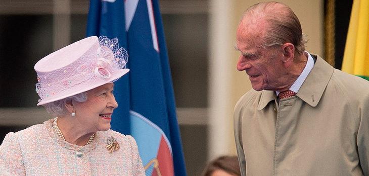 gestos de la reina Isabel II para Felipe de Edimburgo