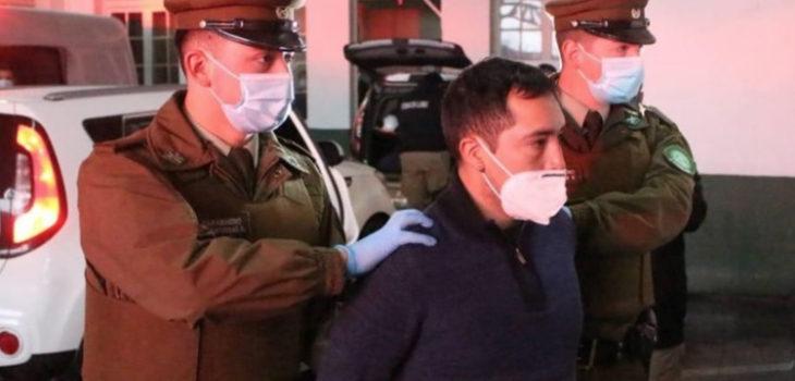 Imputado por homicidio de Eugenio Naín pide asistir al funeral de su padre