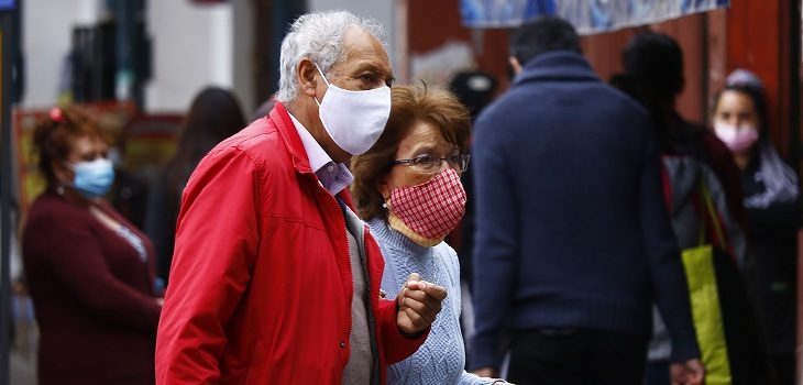 personas mayores cuentan con franja horaria para salir a caminar