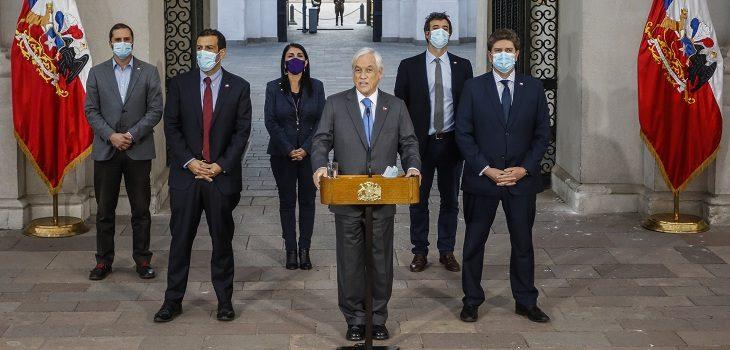 Presidente Sebastián Piñera promulgará tercer retiro del 10%