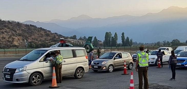 fiscalización en carretera