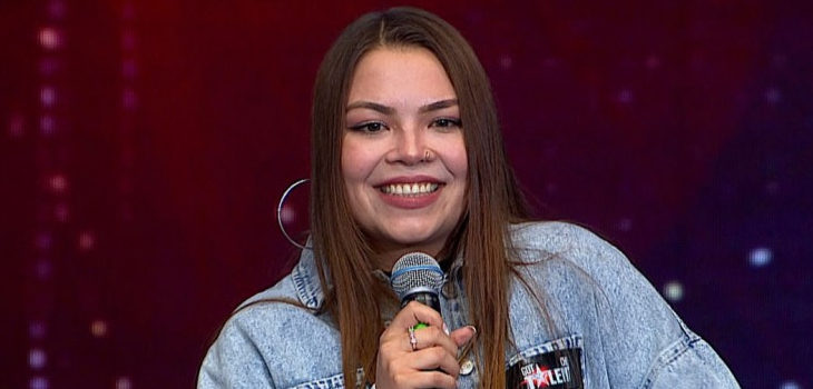 Katia Guerrero en Got Talent Chile