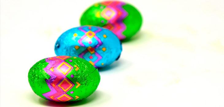 aftas bucales por consumo de huevos de chocolate