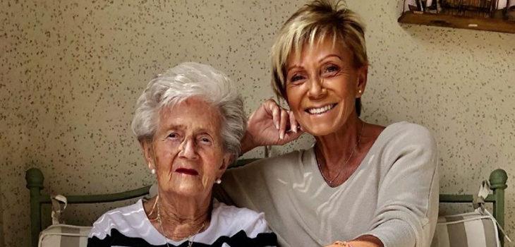 Raquel Argandoña subió tierna foto con su mamá