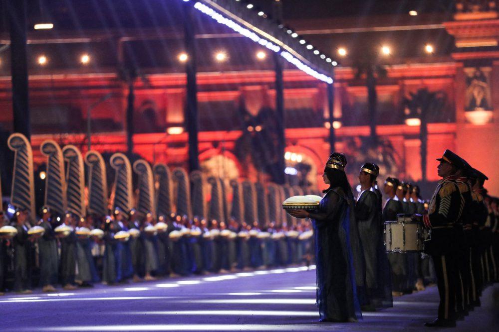 Desfile de momias en El Cairo