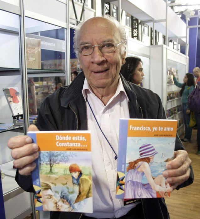 escritor José Luis Rosasco