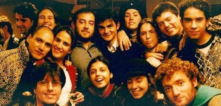 Reconocidos actores y actrices comparten nostálgica foto del recuerdo