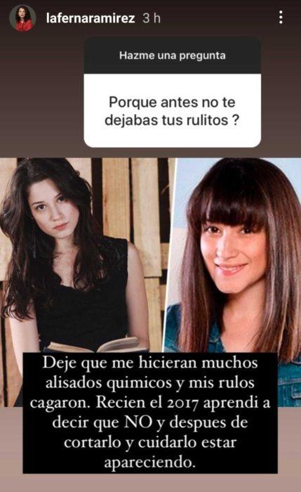 Fernanda Ramírez | Instagram