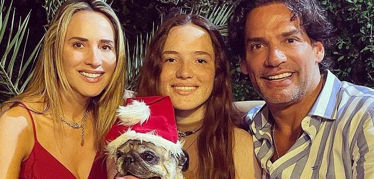 Cristián de la Fuente y Angélica Castro presentaron a particular nuevo integrante de la familia