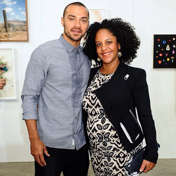 Jesse Williams y ex esposa