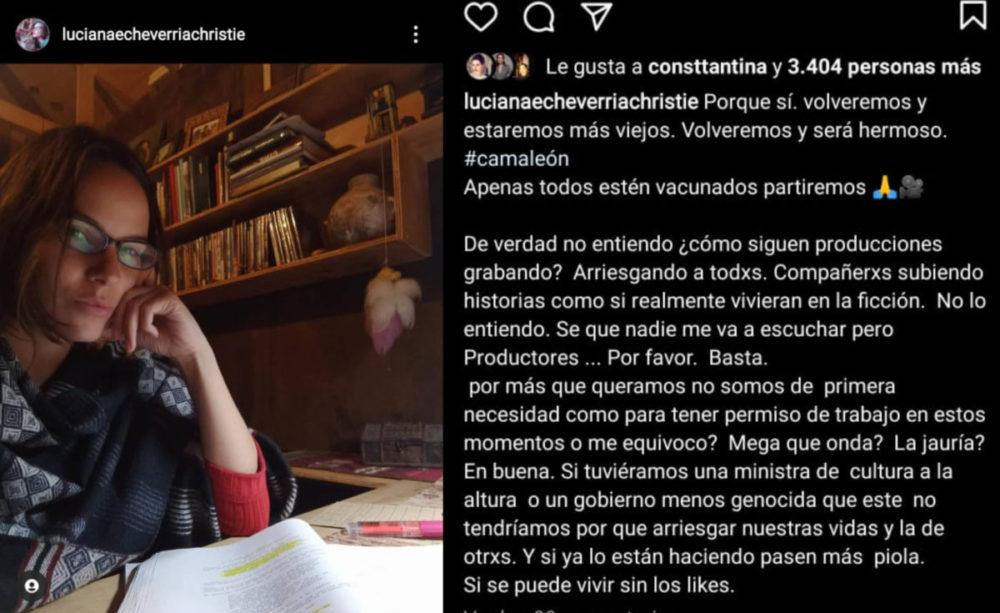 Luciana Echeverría | Instagram