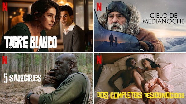 Nominadas Oscar Netflix