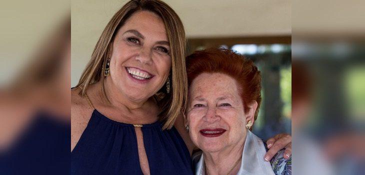 Vivi Kreutzberger dedicó saludo de cumpleaños a su madre