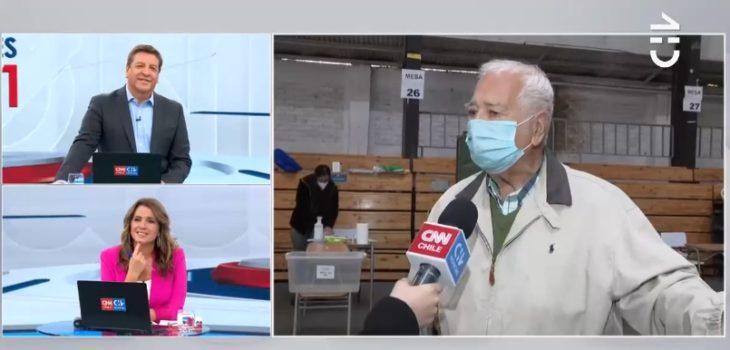 Votante 91 años