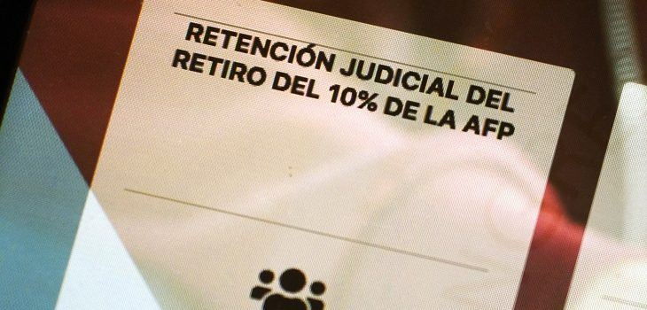 retiro de fondos del 10% y demandantes de pensión alimenticia