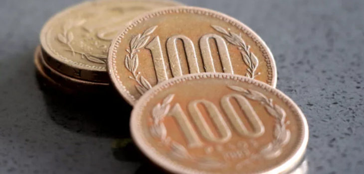 menos monedas en Chile