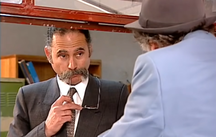 Mario Gatica como Inspector Fermín Arteaga en Romané