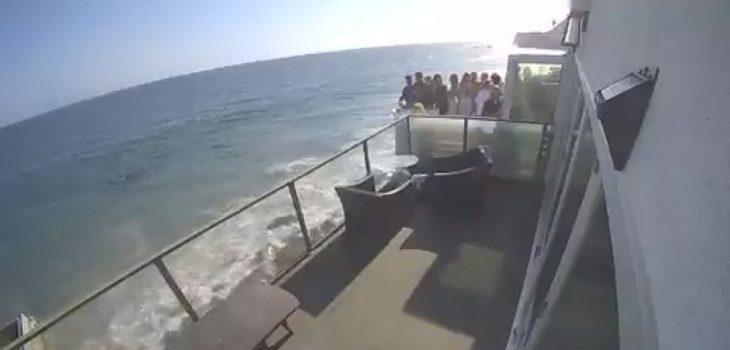 balcón se desplomó en Estados unidos